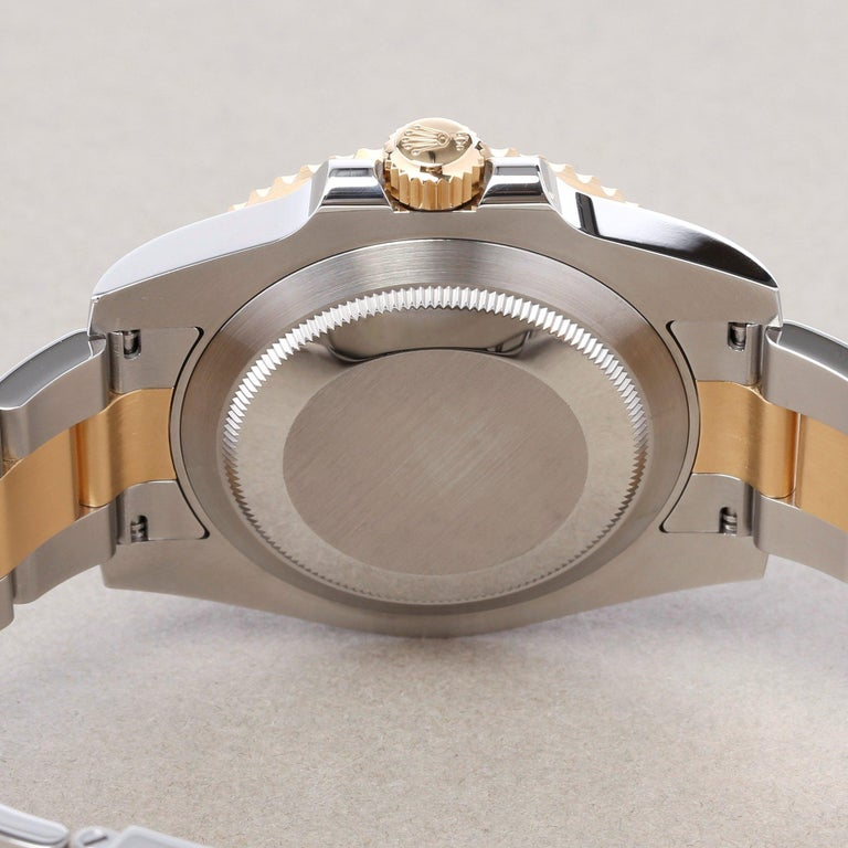 Rolex Submariner 116613LB Men's Yellow Gold & Stainless Steel Watch 4