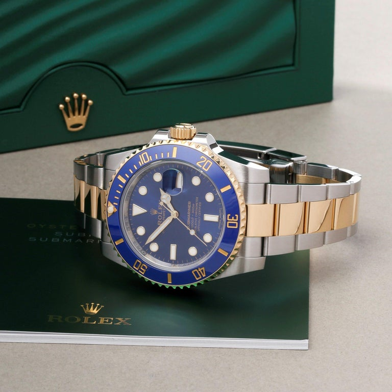 Rolex Submariner 116613LB Men's Yellow Gold & Stainless Steel Watch 6