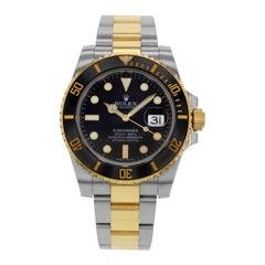 Rolex Submariner 116613LN 2017 4-Liner Date Steel 18 Karat Gold Men's Watch