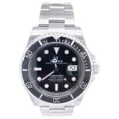 Rolex Submariner 126610LN Date Black Dial Ceramic Bezel Steel Oyster Watch