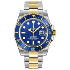 Rolex Submariner 126613LB Blue Dial Two-Tone Automatic Watch, 2020