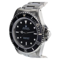 Rolex Submariner 14060, Black Dial, Certified and Warranty