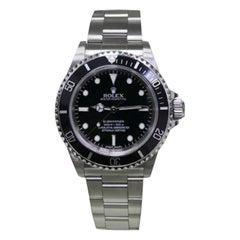 Rolex Submariner 14060 Black Dial Stainless Steel Box and Papers Very Rare, 2012