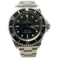 Rolex Submariner 14060 with Band and Black Dial