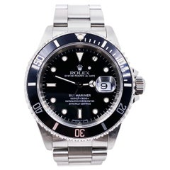 Rolex Submariner 16610 Black Date Stainless Steel Mint