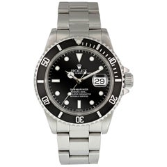 Rolex Submariner 16610 Men's Watch Box and Papers