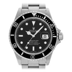 Rolex Submariner 16610 Stainless Steel Auto Watch