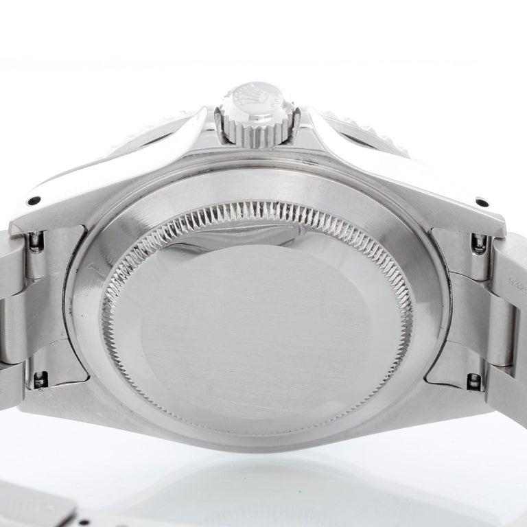 Rolex Submariner 16610 Stainless Steel Men's Watch For Sale 1