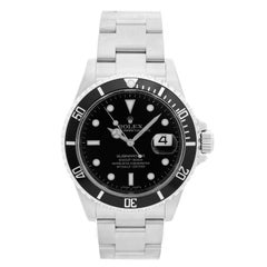 Rolex Submariner 16610 Stainless Steel Men's Watch
