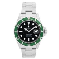 """Rolex Submariner 16610 Stainless Steel Men's Watch """"Kermit"""""""