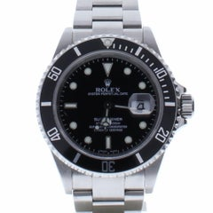 Rolex Submariner 16610 with Band, Ceramic Bezel and Black Dial