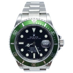 Rolex Submariner 16610V Green Kermit Stainless Box Paper Mint Condition Flat 4