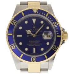 Rolex Submariner 16613, Black Dial, Certified and Warranty