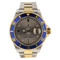 Rolex Submariner 16613, Case, Certified and Warranty