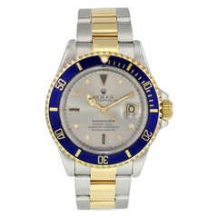 Rolex Submariner 16613 Serti Dial Men Watch