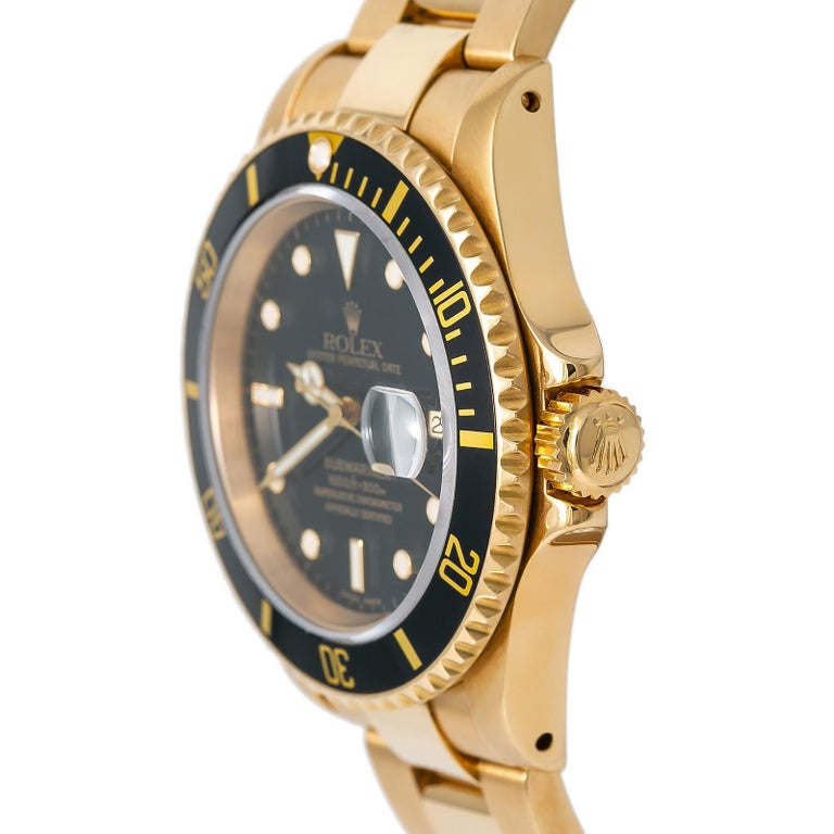 Rolex Submariner 16618, Certified and Warranty For Sale 1