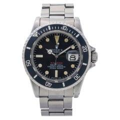 Rolex Submariner 1680 Mark IV Vintage Black Dial Men's Watch 1968