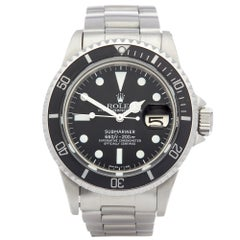 Rolex Submariner 1680 Men's Stainless Steel Mark 1 Dial Watch