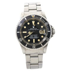 Rolex Submariner 1680 Vintage Stainless Mens Automatic Watch