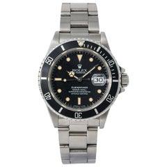 Rolex Submariner 16800, Case, Certified and Warranty