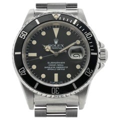 Rolex Submariner 16800, Matte Dial, 100% Original, Serviced, Warranty