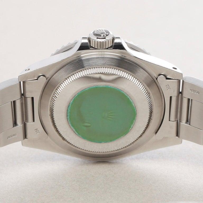 Rolex Submariner 168000 Men Stainless Steel 'Spider Dial' Watch For Sale 4