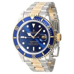 Rolex Submariner 16803 Men's Watch in 18kt Stainless Steel/Yellow Gold