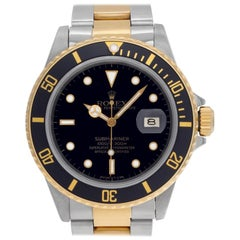 Rolex Submariner 16803, White Dial, Certified and Warranty