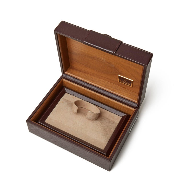 Rolex Submariner 16808 Men's Yellow Gold Serti Diamond Watch 4