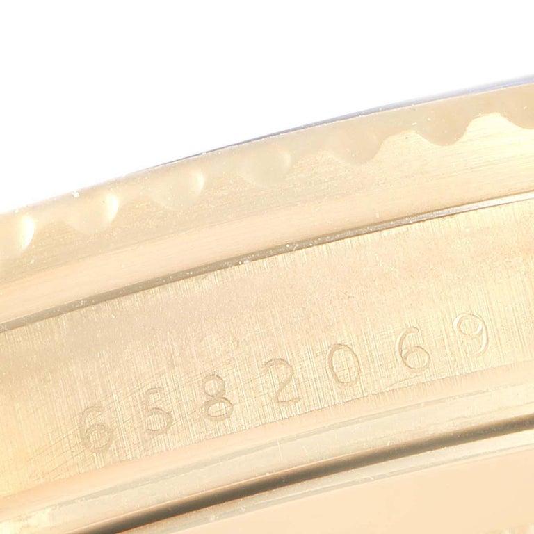 Rolex Submariner 18 Karat Yellow Gold Blue Dial Men's Watch 16808 4