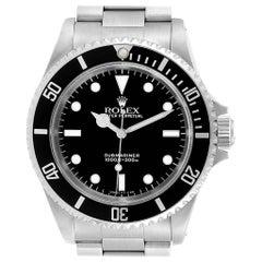 Rolex Submariner 2-Liner Automatic Steel Men's Watch 14060