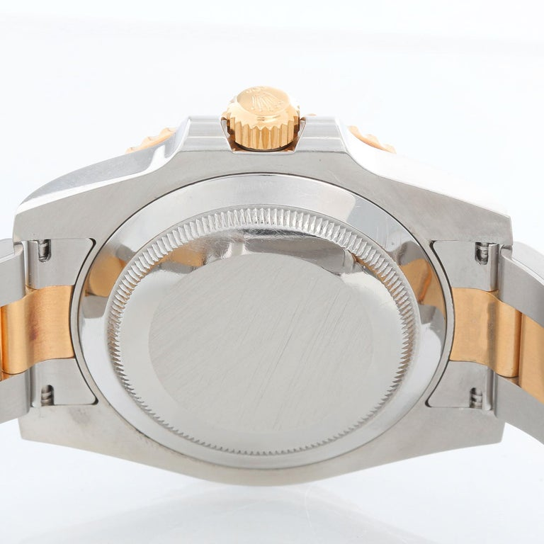 Rolex Submariner 2-Tone Steel & Gold Men's Watch 116613 For Sale 1