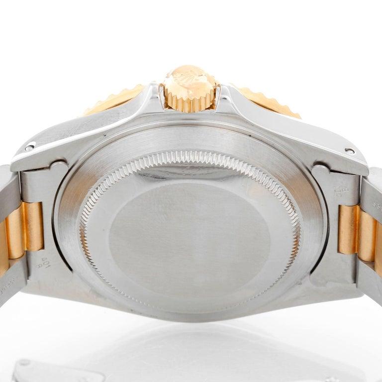 Rolex Submariner 2-Tone Steel & Gold Men's Watch 16613 For Sale 1