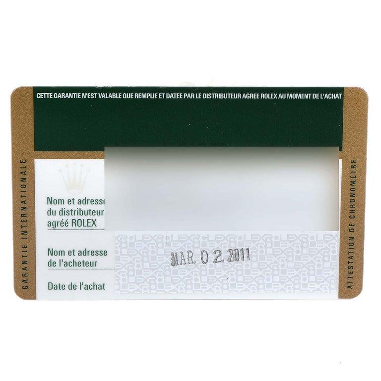 Rolex Submariner 40 Cerachrom Bezel Black Dial Watch 116610 Box Card 8