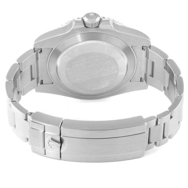 Rolex Submariner 40 Cerachrom Bezel Black Dial Watch 116610 Box Card 2