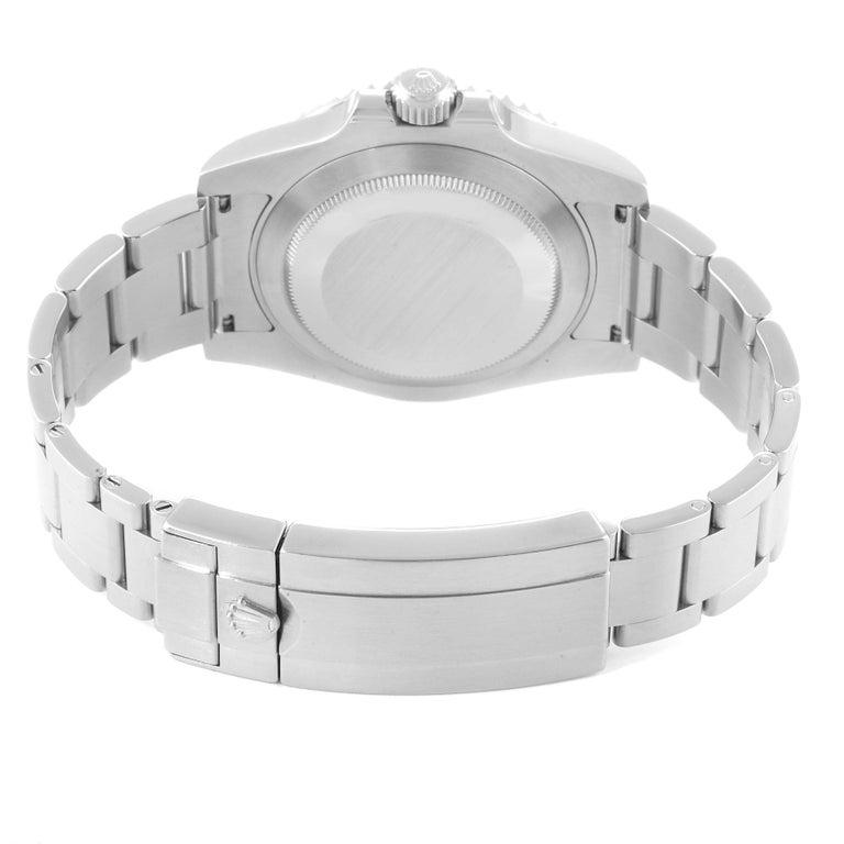 Rolex Submariner 40 Cerachrom Bezel Black Dial Watch 116610 Box Card For Sale 5