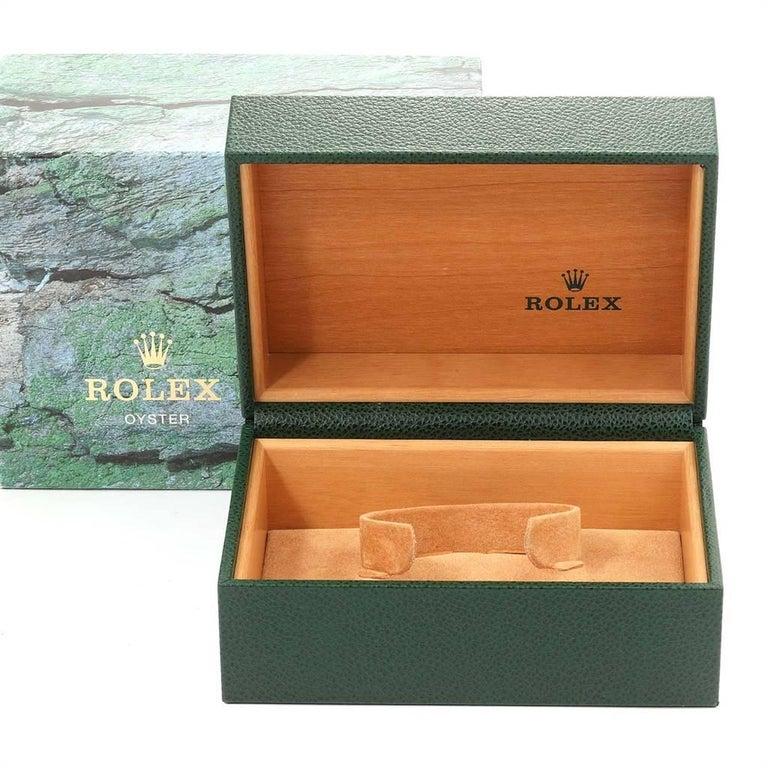 Rolex Submariner Black Dial Steel Men's Watch 16610 Box 7