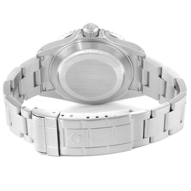 Rolex Submariner Black Dial Steel Men's Watch 16610 Box 4