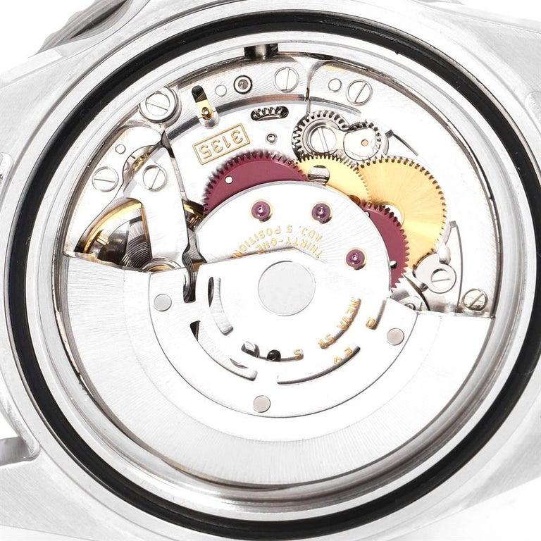 Rolex Submariner Black Dial Steel Men's Watch 16610 Box 5