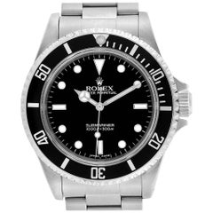 Rolex Submariner Non-Date 2 Liner Steel Men's Watch 14060
