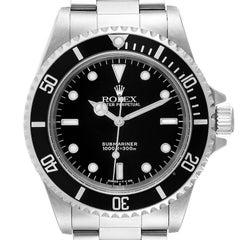 Rolex Submariner Non-Date 2 Liner Steel Mens Watch 14060