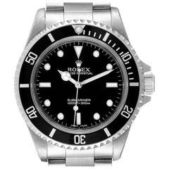 Rolex Submariner Non-Date 2 Liner Steel Men's Watch 14060