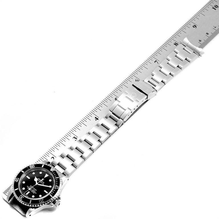 Rolex Submariner Non-Date 4 Liner Steel Steel Men's Watch 14060 For Sale 7