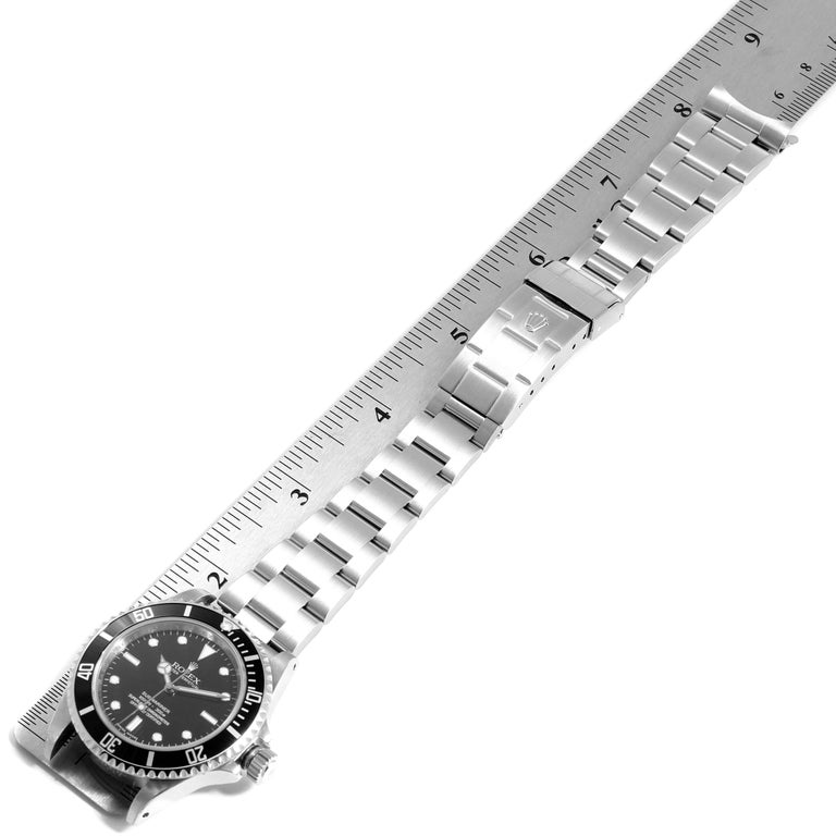Rolex Submariner Non-Date 4 Liner Steel Men's Watch 14060 For Sale 6