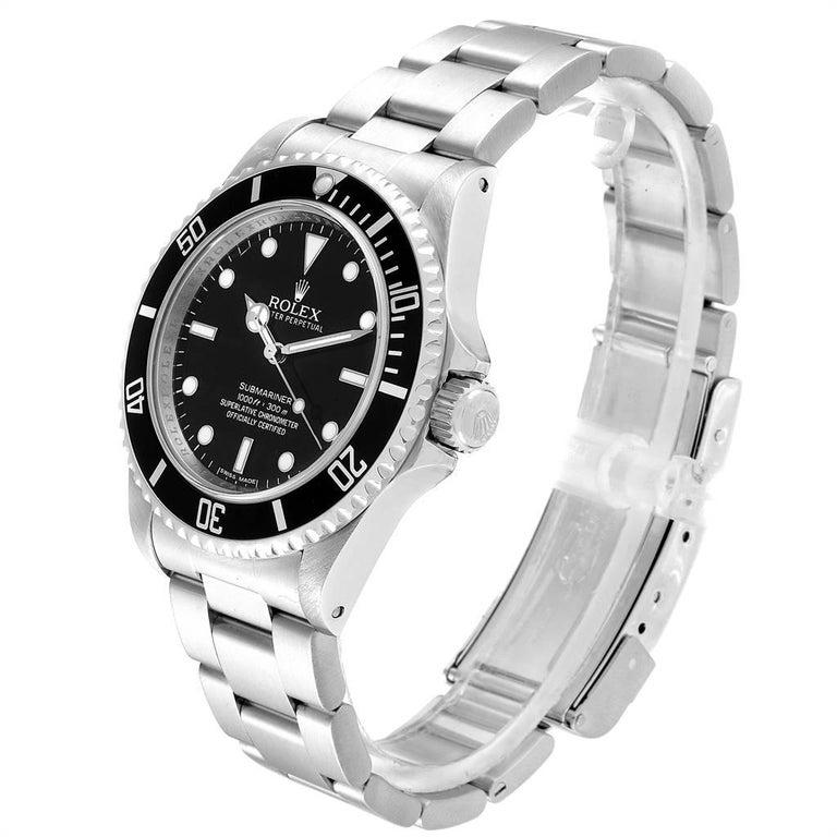 Rolex Submariner Non-Date 4 Liner Steel Steel Men's Watch 14060 For Sale 1