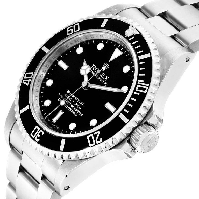Rolex Submariner Non-Date 4 Liner Steel Men's Watch 14060 For Sale 1
