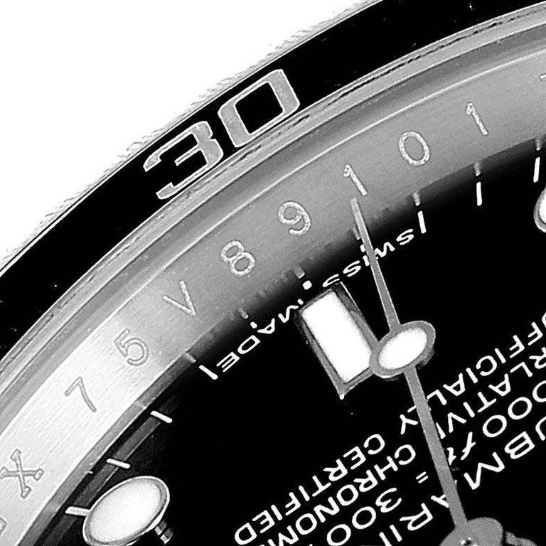 Rolex Submariner Non-Date 4 Liner Steel Steel Men's Watch 14060 For Sale 3