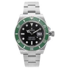 Rolex Submariner Kermit Steel Black Dial Automatic Men's Watch 126610LV