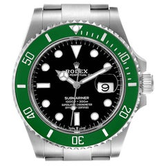 Rolex Submariner 50th Anniversary Green Kermit Men's Watch 126610LV Unworn