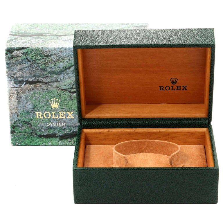 Rolex Submariner 50th Anniversary Green Kermit Men's Watch 16610LV For Sale 8